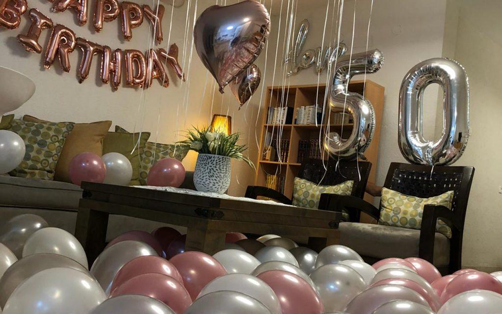 עיצוב חדר יום הולדת
